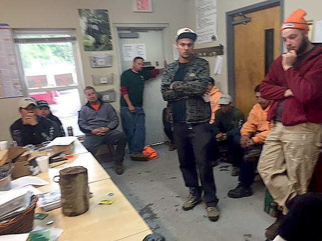 AAA Tree Experts Safety Meeting